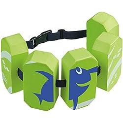 Beco Sealife - Cinturón de natación para niños, 30 kg, Color Verde