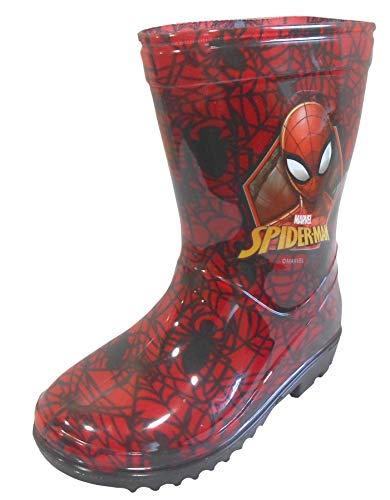 Boys Wellington Boot Spiderman Wellies Size 7 8 9 10 11 12 13 1 Infant - Junior