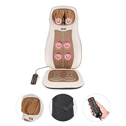 Klarfit nukuoro poltrona cuscino massaggiante massaggio for Poltrona massaggiante amazon
