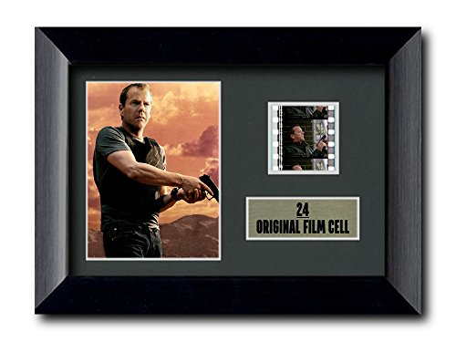Click for larger image of 24, Jack Bauer, Framed Film Cell, Mini Poster, Photo