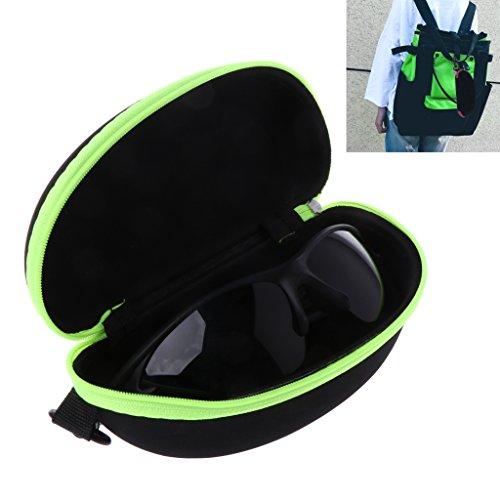 ydzn tragbar Reißverschluss Sonnenbrille Fall,, Brille Eyewear Shell Hard Displayschutzfolie Storage Box Tasche