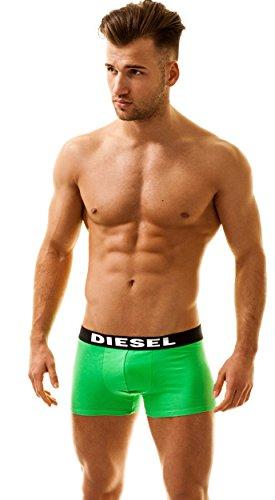 Diesel Herren SHAWN TRUNK 3 Pack Boxershorts Männer Unterhosen Retroboxer Shorts CLIFTON-GREY