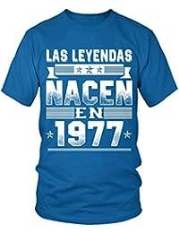 TEEZILY Leyendas 1977 - [S02] Camiseta Hombre