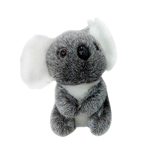 Tenflyer Peluche pour enfants mignons Coussin Koala ours en peluche jouet en peluche Koala (13cm)