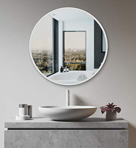 HOKO® Rer LED Bad Spiegel Freiburg 80cm mit ANTIBESCHLAG SPIEGELHEIZUNG außen LED kaufen  Bild 1*