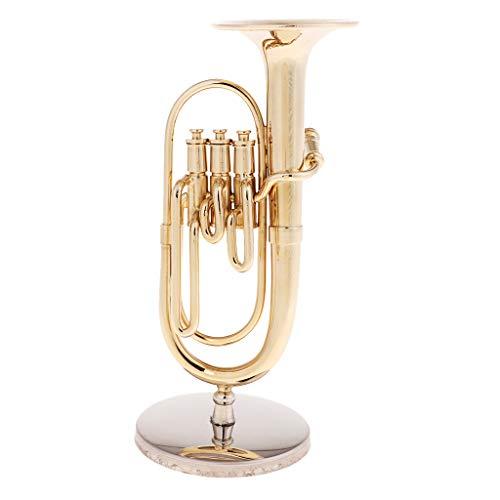 sharprepublic Mini Tuba Modell Für 1/6 Actionfiguren Für 12 Zoll Puppenzubehör Dekor