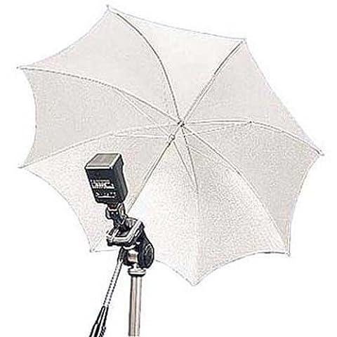 Hama Studioschirm für indirekte Beleuchtung, Faltbar, Durchmesser 90 cm, Weiß (Digital Studio Beleuchtung)