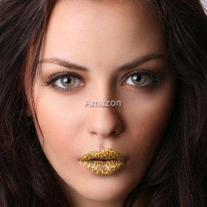 Lippen Wrap (Tattoo's) von Passions- Lippen - Gepard