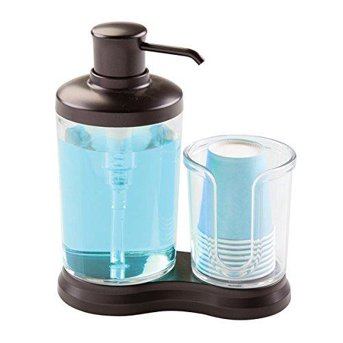 mdesign-dispensador-de-enjuague-bucal-dosificador-para-higiene-bucal-con-divisin-para-vasos-de-papel