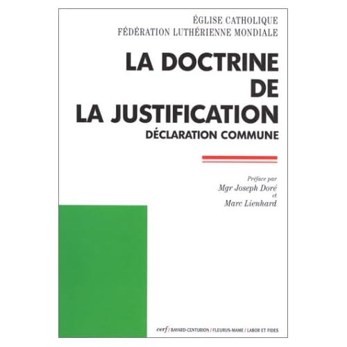 LA DOCTRINE DE LA JUSTIFICATION. : Déclaration commune