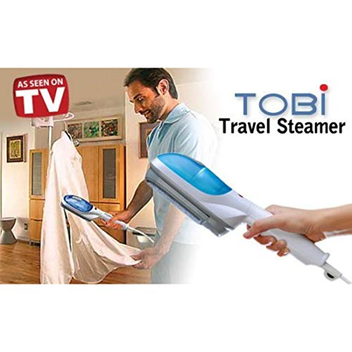 ZURU BUNCH® Portable Plastic Steam Iron Tobi Travel Steamer Garment Hand Steamer For Clothes - White