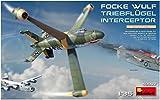 MiniArt 40002 Focke-Wulf Triebflügel Interceptor Modellbausatz, grau