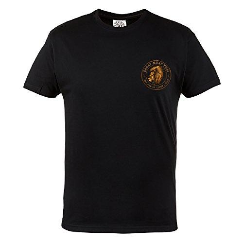Rule Out T-shirt Abbigliamento sport. SAGAT Muay Thai The Art of Otto limbs. palestra. allenamento. sportswear. CORSA ESCURSIONI IN bicicletta. MMA ABBIGLIAMENTO sport. MARZIALE arti. Casual Nero