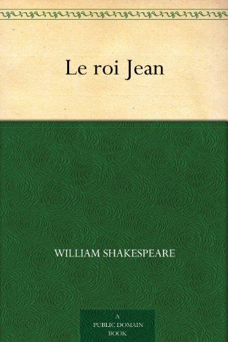Couverture du livre Le roi Jean