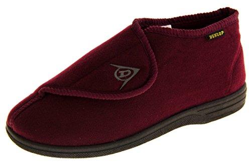 Footwear Studio Hombre Negro Malla Ajustable De Velcro Zapatillas Ortopédica EU 45-46 omJpL