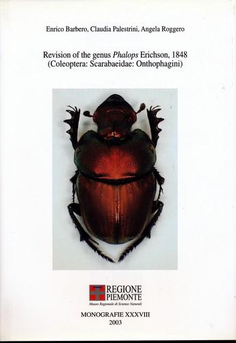 Revision of the genus Phalops Erichson, 1848 (Coleoptera: Scarabaeidae: Onthophagini) (Monografie)