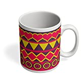 PosterGuy Coffee Mugs - Cool Tribal Pattern | Designed by: Design Dazzlers