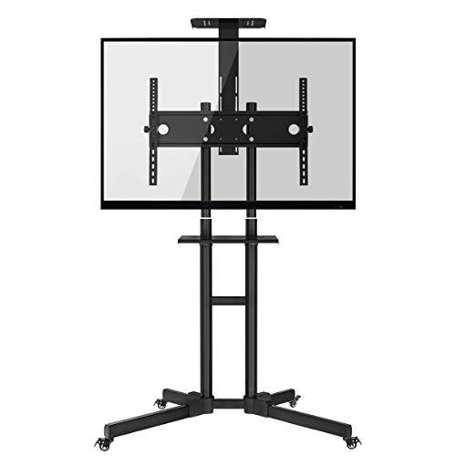 HOMEMAXS Soporte móvil de suelo para pantallas LCD, LED , Plasma y...