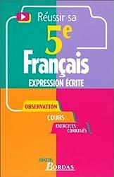 517 - EXPRESSION ECRITE 5E NE    (Ancienne Edition)