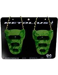 Metolius - Anillas para roca, color verde