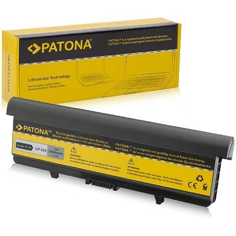 PATONA Batteria per Laptop / Notebook DELL Inspiron 1526 | Inspiron 1525 - [ Li-ion; 6600mAh; nero ]