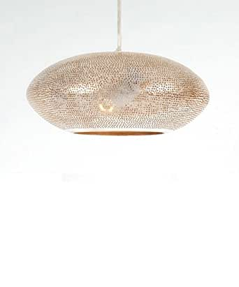 Zenza Filisky Silver Pendant Light - Mini