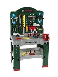 Theo Klein 8580 – Bosch Workstation 60 x 78 cm, Spielzeug