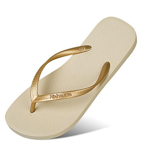 Donna Tinta Unita Infradito/Sandali Casuali/Estate Pizzico Skid Shoes A