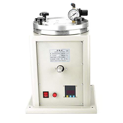 Wachsinjektor für Schmuck, einstellbarer Druckbehälter, Temperaturregelung für Wachsinjektionsmaschine, Juwelier, der Gießmaschine mit Einzeldüse für Wachsinjektion herstellt(EU) (Juwelier Der)
