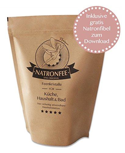 Natron Pulver Lebensmittelqualität 1 kg Natriumhydrogencarbonat - Baking soda - Backsoda - NaHCO3 - E500 ii