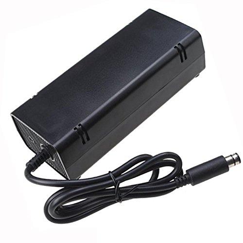 Preisvergleich Produktbild Vococal 12V 9.6A AC Adapter Netzteil für Microsoft XBOX 360E-Konsole EU-Stecker Schwarz