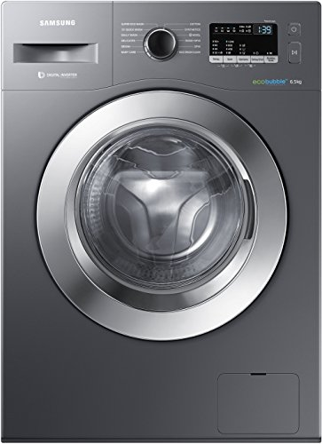 Samsung 6.5 kg Fully-Automatic Front Loading Washing Machine (WW65M224K0X/TL, Inox)