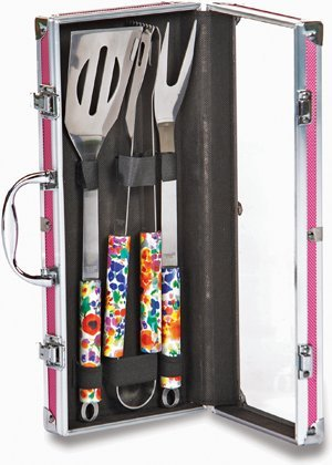 3-piece-stainless-steel-womens-barbecue-tool-set-by-picnic-plus