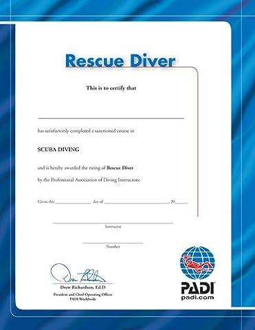 PADI - Certificate-RESCUE