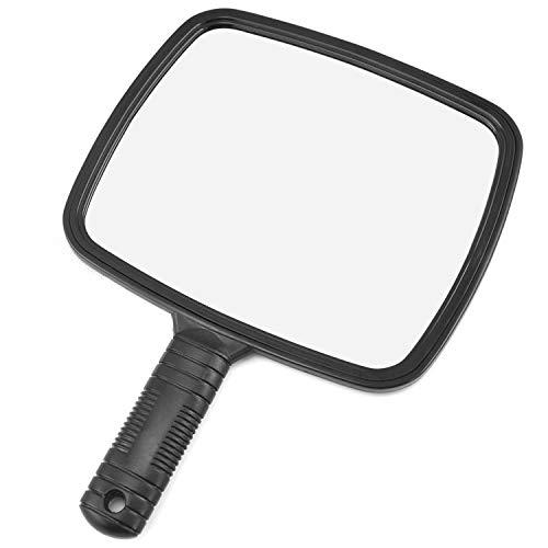 Trixes specchio portatile professionale per salone parrucchiere, barbiere, con manico