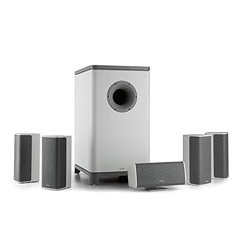 NUMAN Ambience 5.1 Surround-Sound System Heimkino (inkl. 30m Lautsprecherkabel, Aktiv-Mono