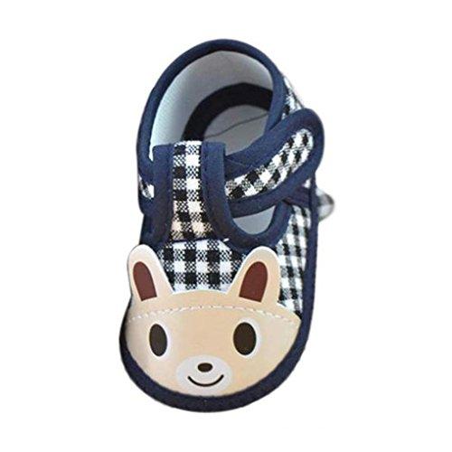LMMVP-Kids Baby Shoes 0-6 Months Newborn Baby Girl Boy Walking Shoes Soft Sole Anti-Slip Canvas Sneaker