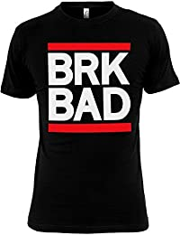 BAD breaking bAD bRK t-shirt noir