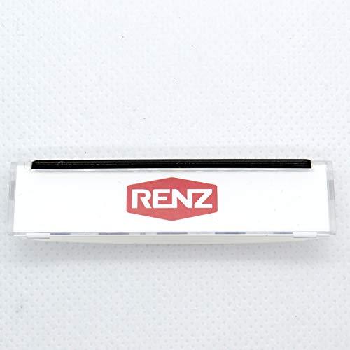 RENZ Namensschildabdeckung für Tastenmodul 62x16mm RENZ Nummer 97-9-82046 -