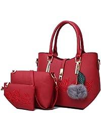 f802dbf14 longing-summer on 3 bolsas de cuero para mujer famosa marca bolsa de hombro  Fe