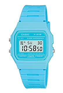 Casio Men's Blue Digital Watch with Resin Strap F-91WC-2AEF (B004323RBA) | Amazon price tracker / tracking, Amazon price history charts, Amazon price watches, Amazon price drop alerts
