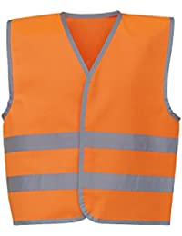 Yoko Hi-VIS Childrens/Kids Reflective Border Waistcoat