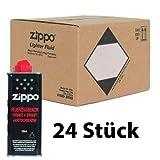 Feuerzeugbenzin ZIPPO 24x Zippo Benzin Original Benzin je 125 ml