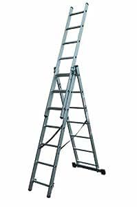 Lyte Aluminium Combination Ladder 3X7