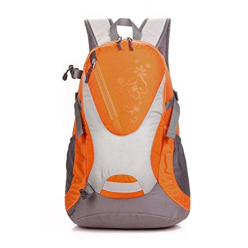 Bergsteigen Tasche Wasserdicht Reiten Rucksack Outdoor Reise Rucksack 30L Orange