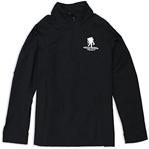 Under Armour WWP ColdGear Infrared 1/4 Zip Women's Black Small 1245857001SM by Under (Under Armour Nylon Pullover)