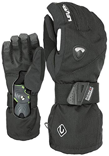Level Herren Handschuhe Fly, Black, 9