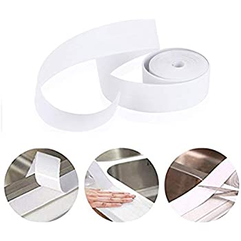 Ephvodi Caulk Strip Pe Self Adhesive Sealant Tape Waterproof Mildewproof Trimmer And