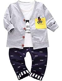 3ff9b2ecb QUICKLYLY Conjuntos Peleles Ropa Traje Bebe Niños