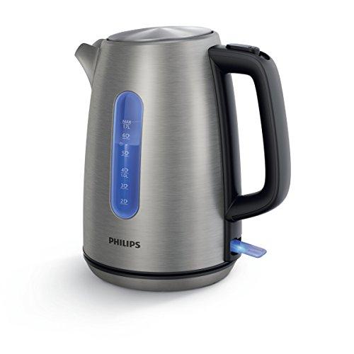 Philips HD9357/10 Wasserkocher, 1,7 L, 2200 W, edelstahl